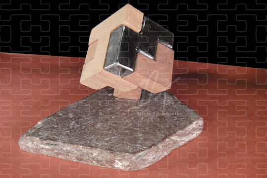 Image of Cube Sculpture